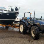 Hydraulische botenwagen tot 15 ton